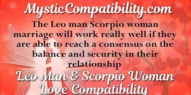 Leo woman scorpio man sexually galleries 16