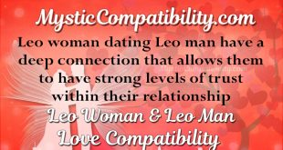 when dating a leo man