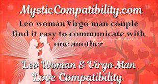 virgo man dating a leo woman