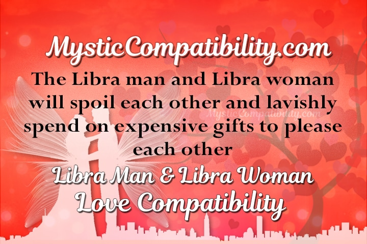 Compatibility between libra man and libra woman
