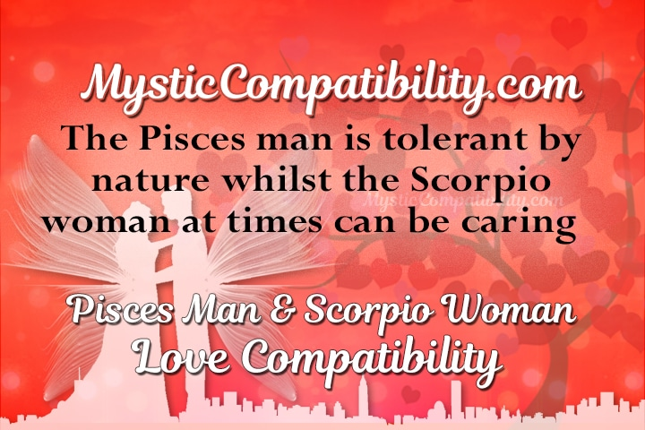 Pisces man scorpio woman match