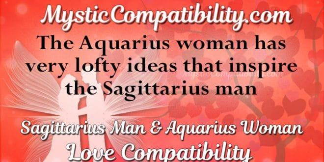 Aquarius woman and sagittarius man compatibility 2018