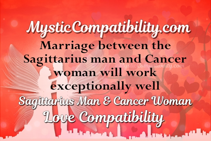 Cancer Woman Compatibility With Sagittarius Man