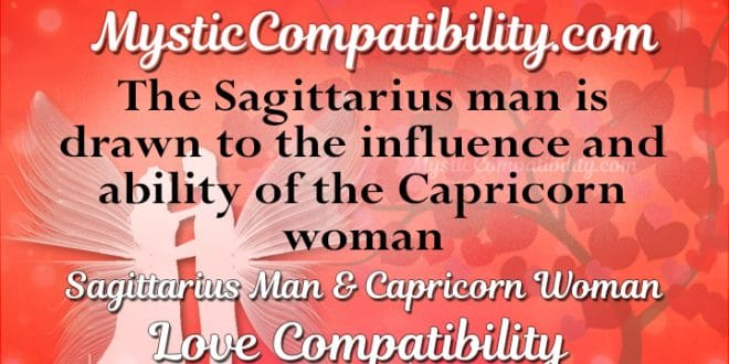 Compatibility between capricorn woman and sagittarius man