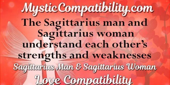 Sagittarius Man Sagittarius Woman Compatibility Mystic Compatibility