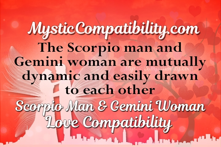 Scorpio man and gemini woman sexually