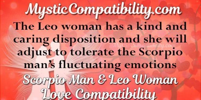 Scorpio Man Leo Woman Compatibility Mystic Compatibility