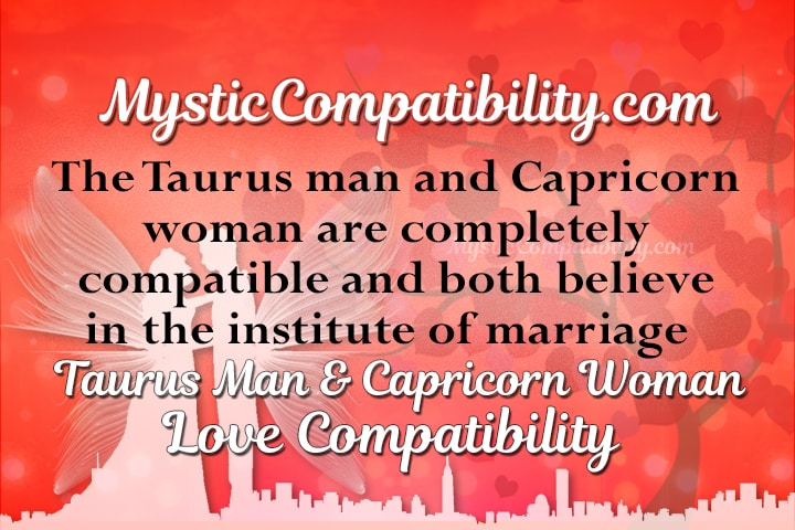Taurus marriage compatibility