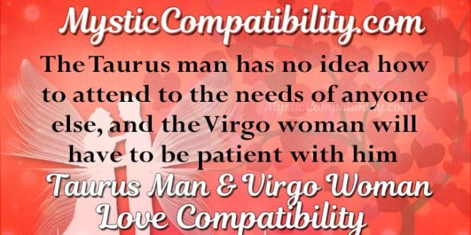 virgo woman dating taurus man