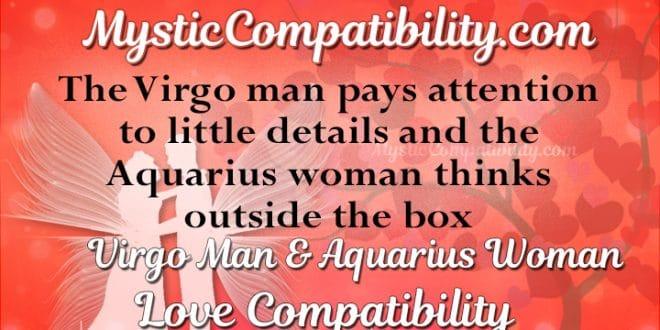 Virgo Man Aquarius Woman Compatibility Mystic Compatibility