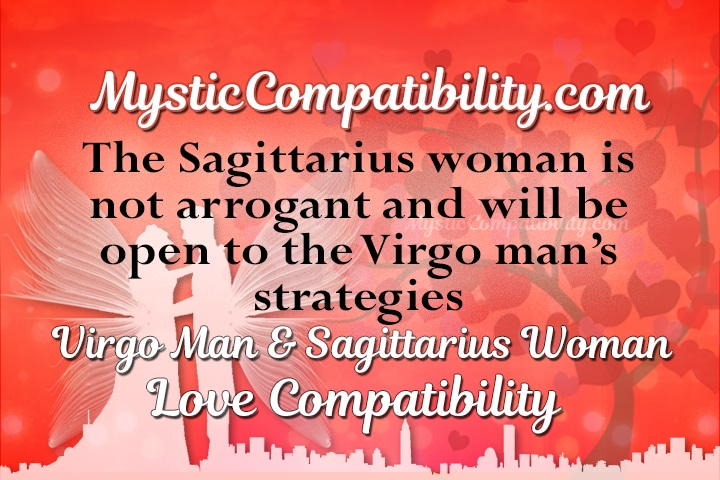 Virgo man sagittarius woman love