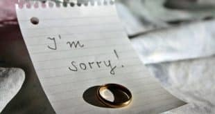 Sorry love note