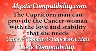 capricorn man cancer woman