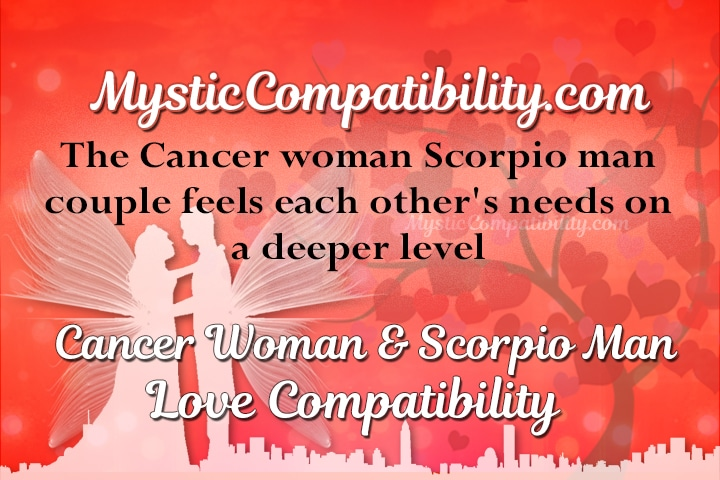 dating a scorpio man and cancer woman This article talks on the whether a scorpio man and woman are perfect with each other learn more about scorpio man and scorpio woman  compatibility based on date.