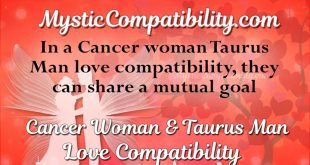Cancer woman dating taurus man