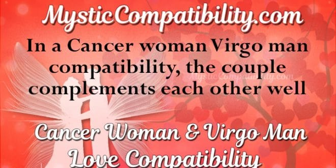 Cancer woman virgo man 2017