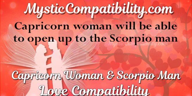 Capricorn Woman Scorpio Man Compatibility Mystic Compatibility