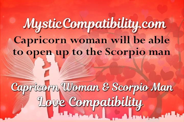 Capricorn woman and scorpio man relationship