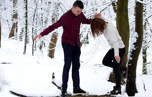 couple having fun together