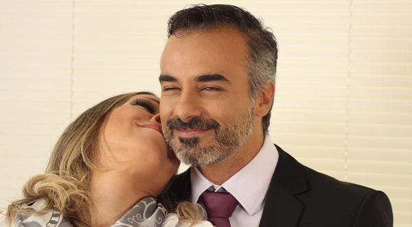 couple smiling lovingly