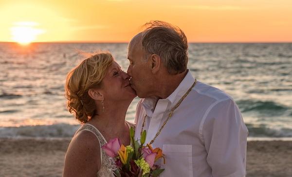 elderly in love