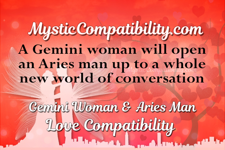 gemini man and aries woman sexually