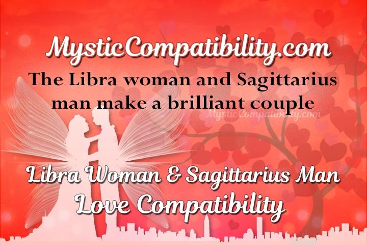 Libra woman and a sagittarius man