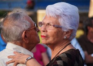 older adults in love