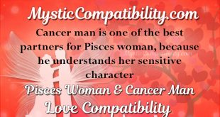 Cancer man and pisces woman compatibility 2012