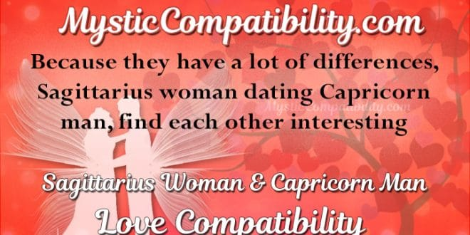 Capricorn man and sagittarius woman love compatibility
