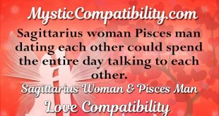 pisces man sagittarius woman compatibility