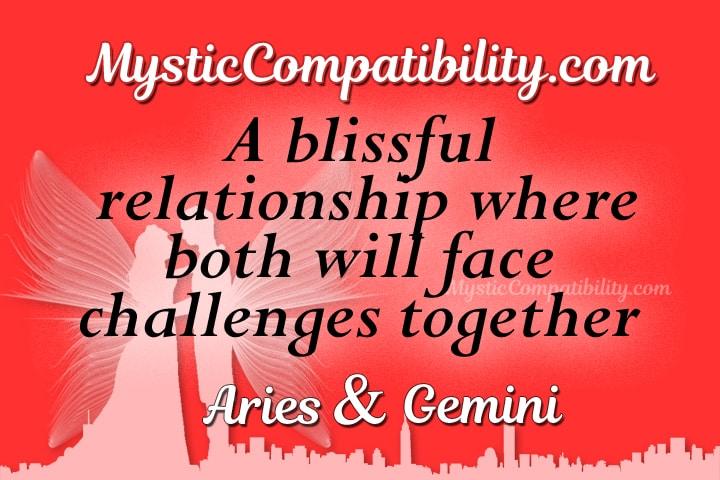 Aries Gemini Compatibility - Mystic Compatibility