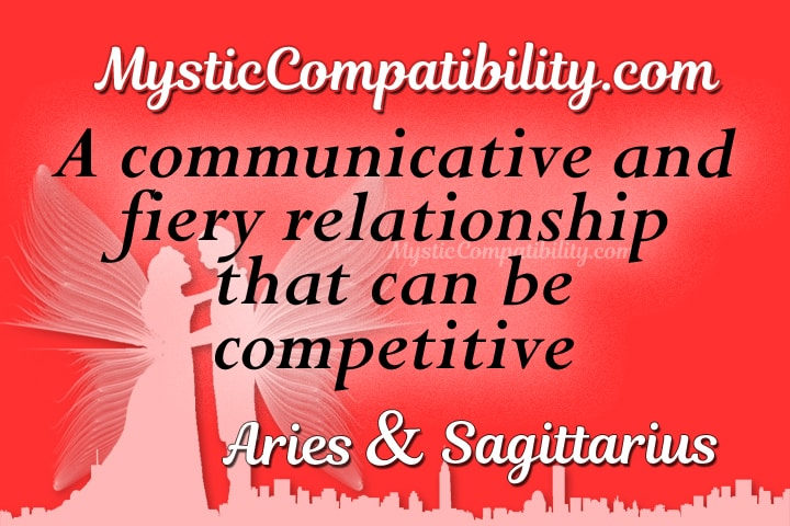 Sagittarius compatible with aries