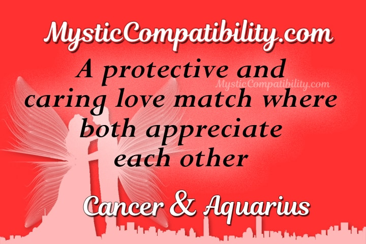 Cancer Aquarius Compatibility