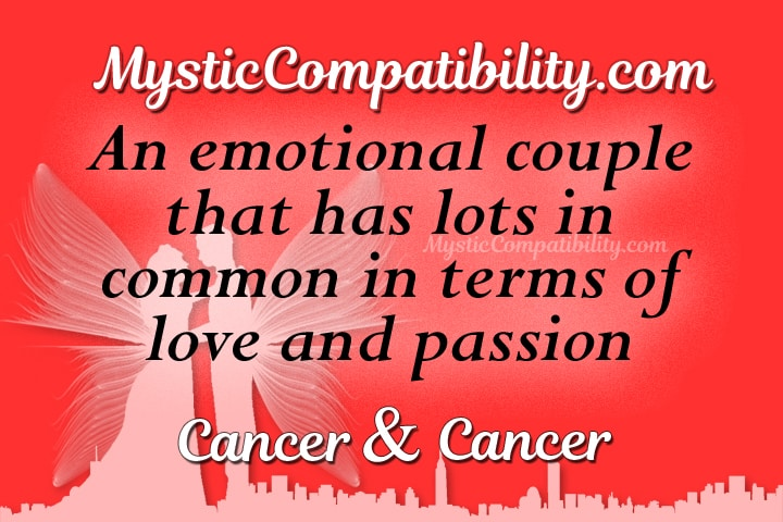 compatibility cancer cancer