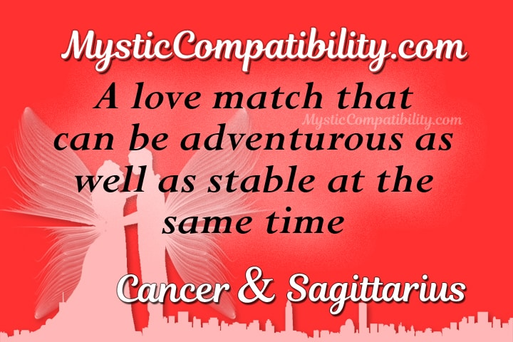 Cancer Sagittarius Compatibility
