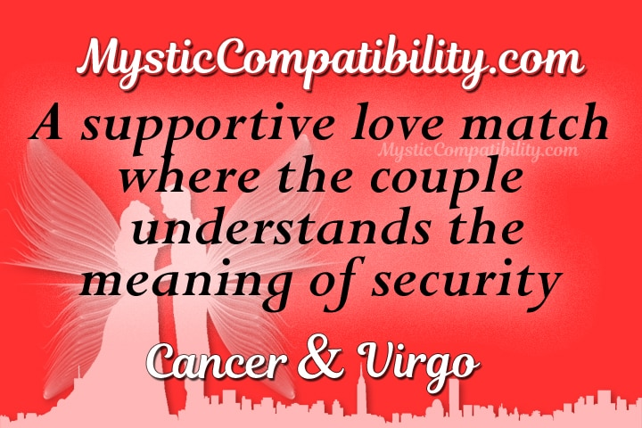Cancer Virgo Compatibility