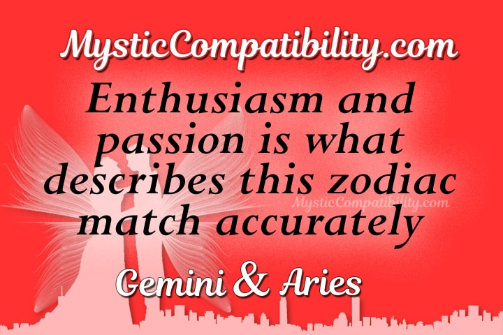 Gemini Aries Compatibility