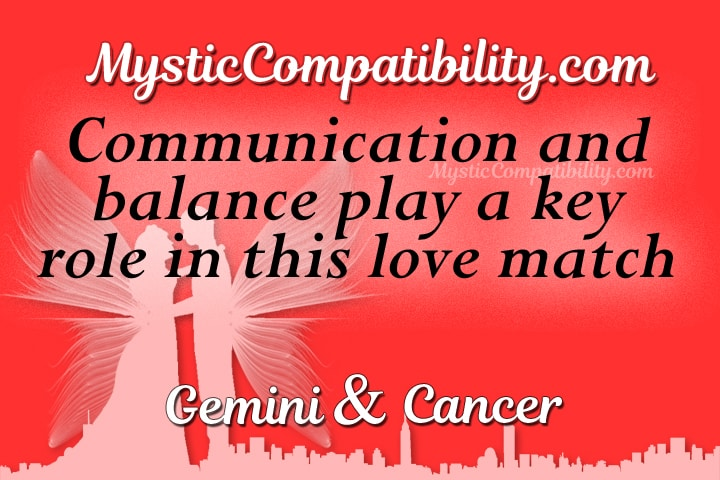 Gemini Cancer Compatibility