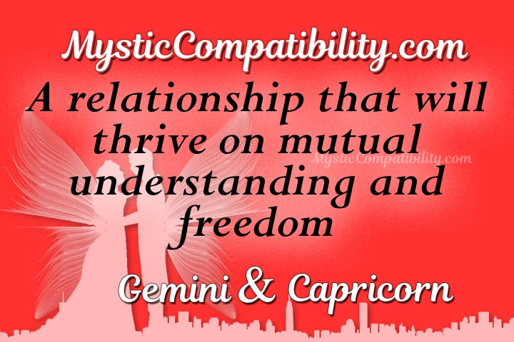 Compatibility with gemini and capricorn sexual orientation