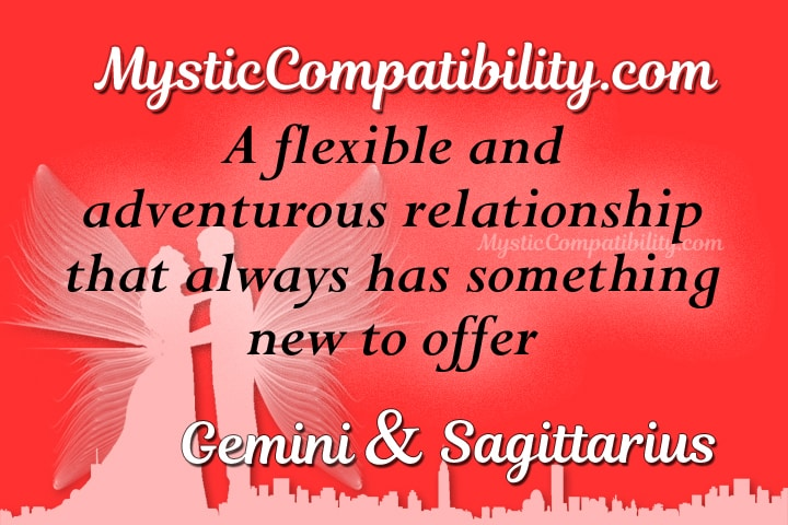 Sagittarius and gemini relationship
