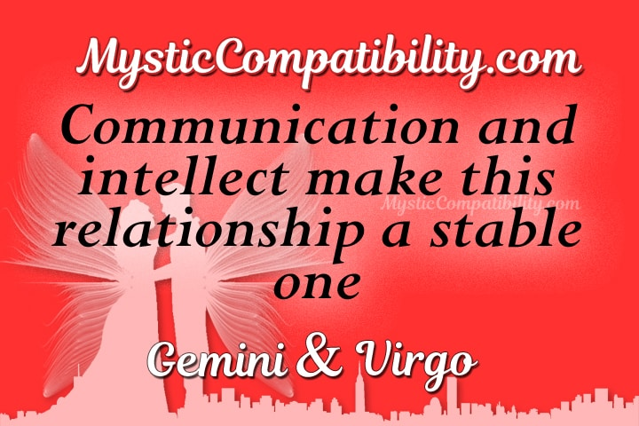 Gemini Virgo Compatibility