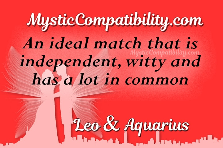 Leo Aquarius Compatibility