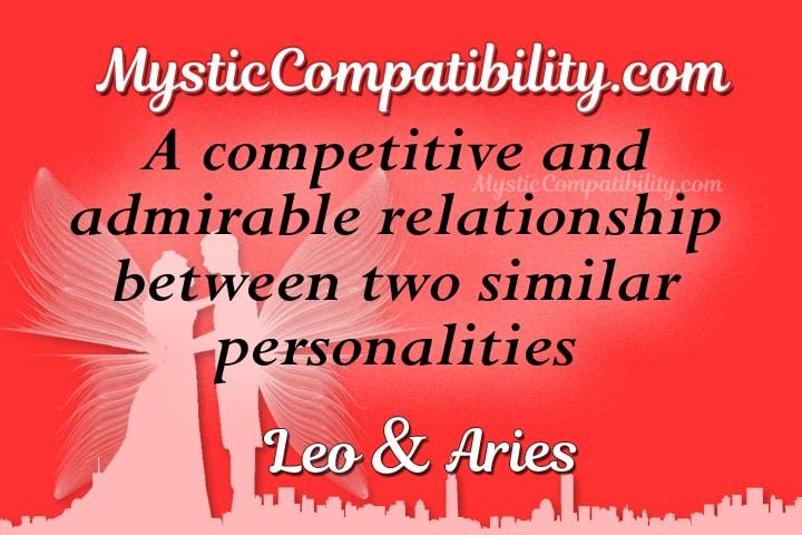 Leo Aries Compatibility