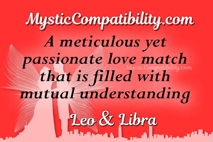 relationship between leo and libra