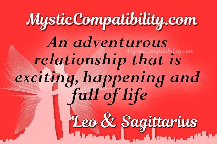 Leo Sagittarius Compatibility