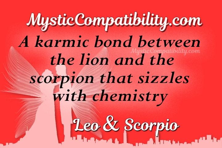 Leo Scorpio Compatibility