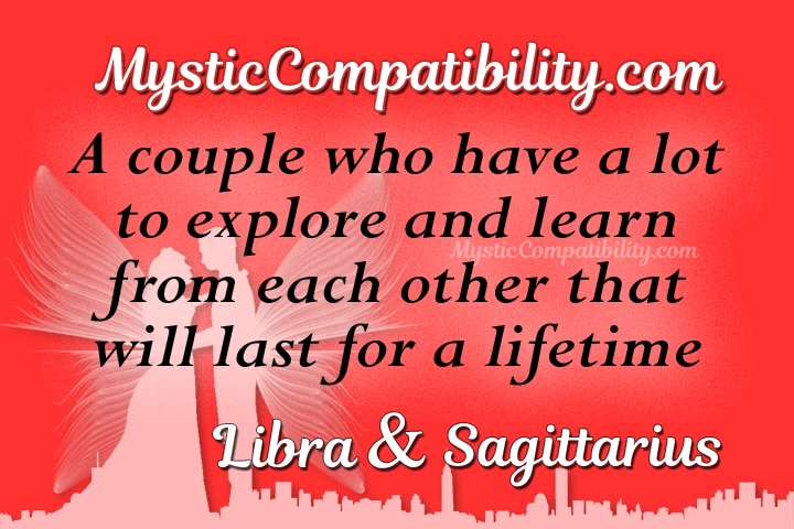 Libra and sagittarius compatibility in bed