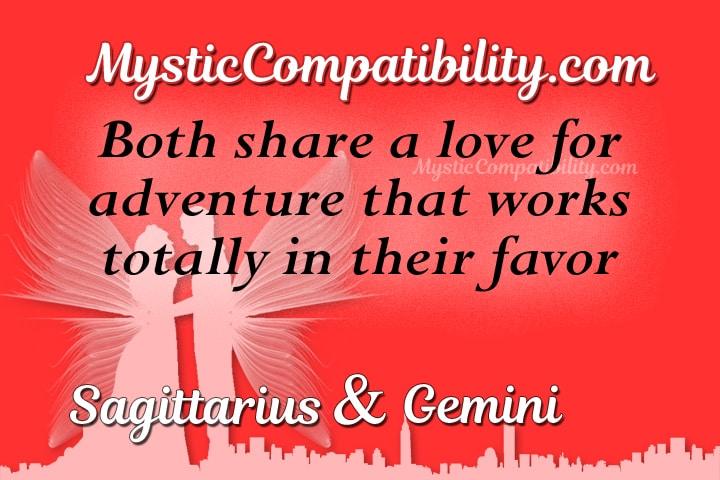 Sagittarius Gemini Compatibility