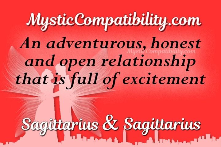Sagittarius And Sagittarius Compatibility From Linda Goodman's Love Signs